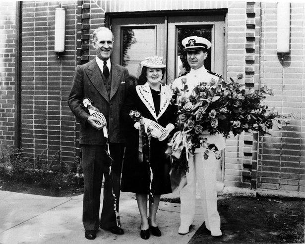 governor and Mrs. Bushfiled
