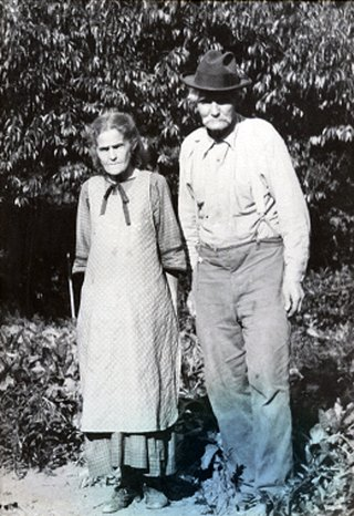 Johnny and Nettie Spaulding