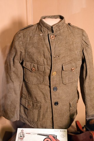 child's military-style tunic