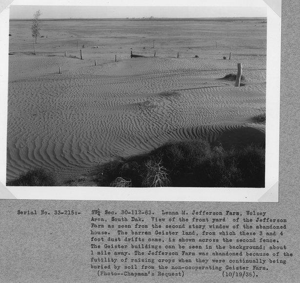 soil drift