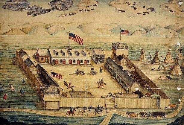 fort pierre choteau ca 1864