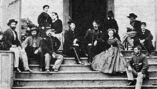 custer family and friends