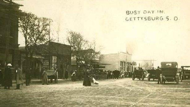 gettysburg, south dakota, 1910
