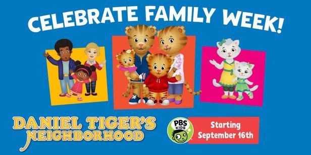 Daniel Tiger's Neighborhood Family Week