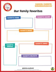 Daniel Tiger's Our Family Favorites
