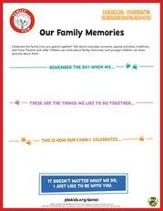 Daniel Tiger's Our Family Memories