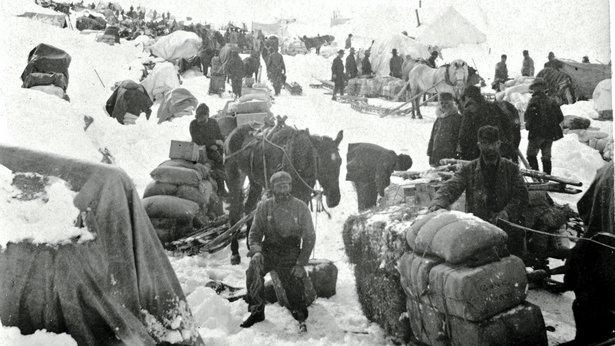 Summit of White Pass, 1898.