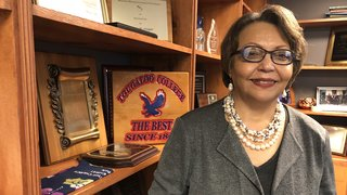 Tougaloo President Beverly Wade Hogan