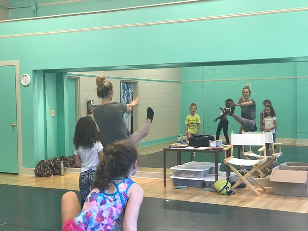 Students in a Delta Arts Alliance dance class