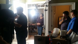 Supporters of Initiative 42 shoot a TV commercial in Brandon