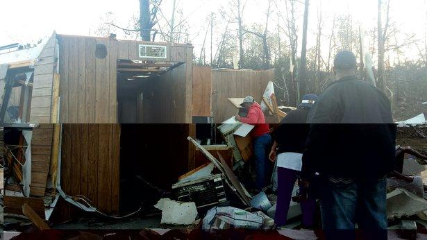 Holly Springs, MS Damage