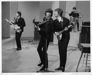 "The Beatles made their American television debut in 1964 on ""The Ed Sullivan Show."""