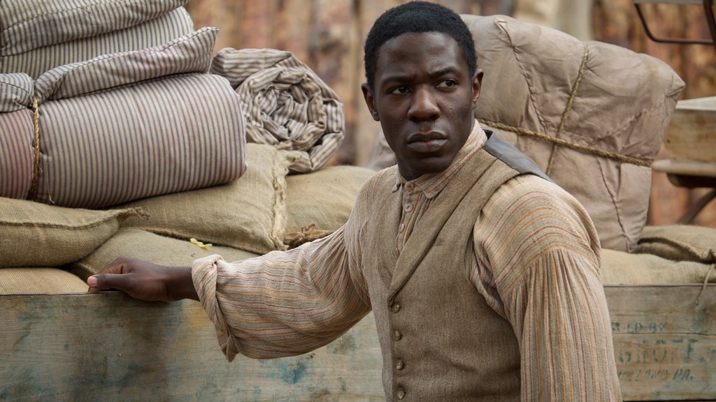 Samuel Diggs in an Upcoming Scene from Mercy Street Season 2