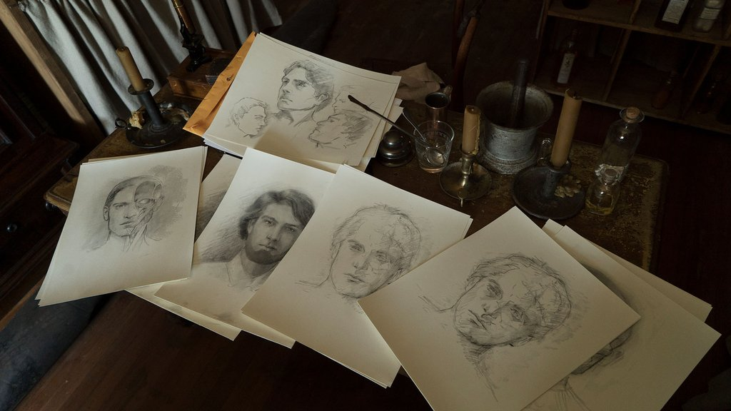 Medical sketches in Mercy Street