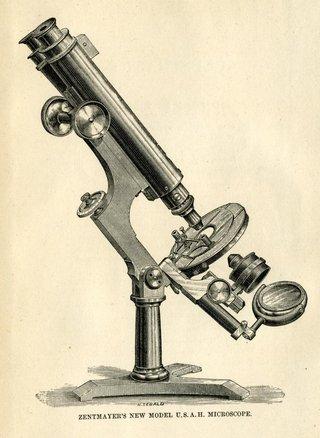 Zentmayer US Army microscope