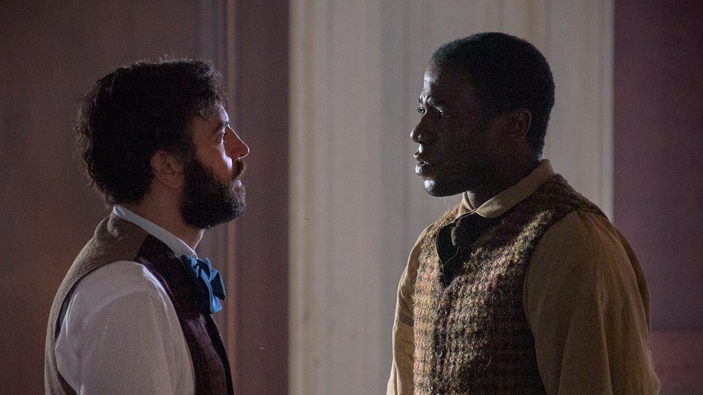 Dr. Foster and Samuel Diggs, as seen in Episode 5