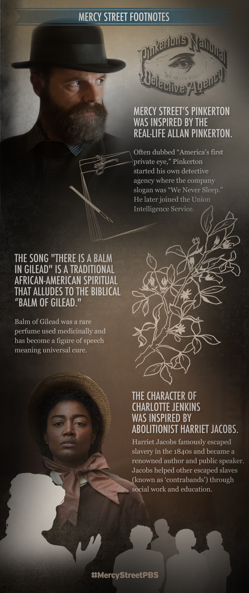 Mercy Street Footnote infographic