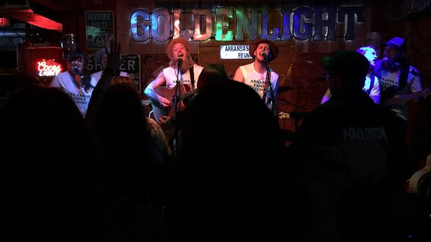"A trio of Amarillo bands performed an ""Arkansas Family Reunion"" concert April 9 at Golden Light Cantina."