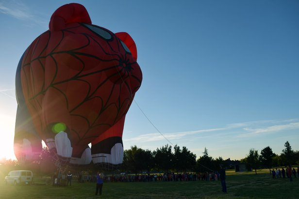 The Up in the Air for Family Care Balloon Rally is Friday through Sunday.