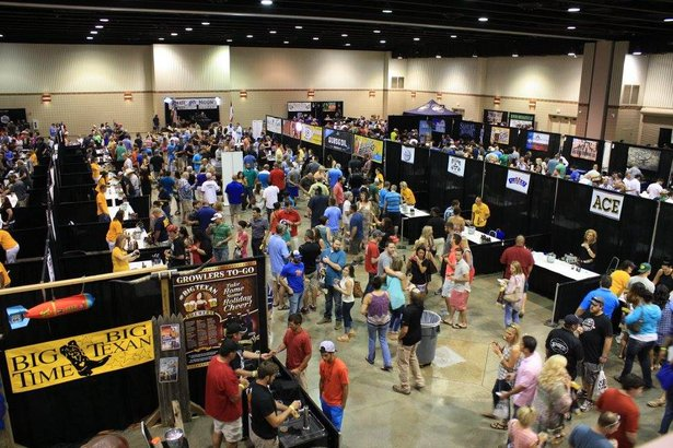 Crowds packed the 2015 Texas Panhandle Craft BeerFest. This year's party is Saturday.