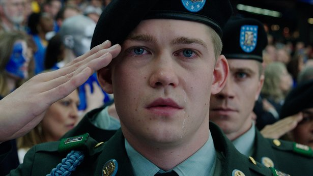 "Joe Alwyn stars in ""Billy Lynn's Long Halftime Walk."""