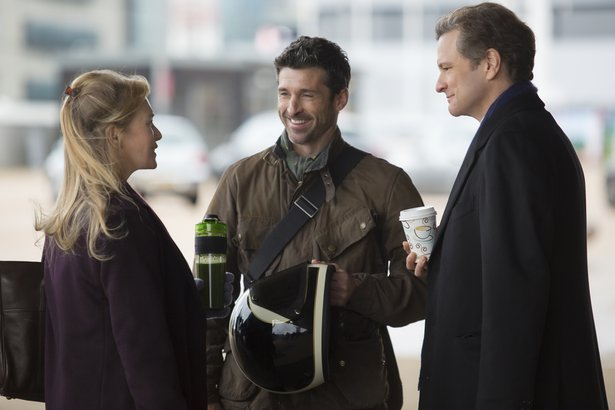 "Renee Zellweger, Patrick Dempsey and Colin Firth star in ""Bridget Jones's Diary."""