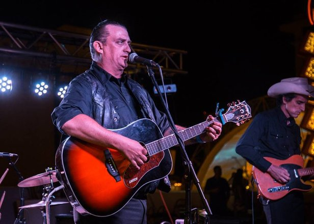 Johnny Cash tribute band Cash'd Out will play at 10 p.m. Sunday at Hoots Pub.