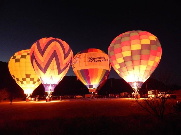A Christmas in the Canyon Balloon Glow is scheduled for Dec. 17.
