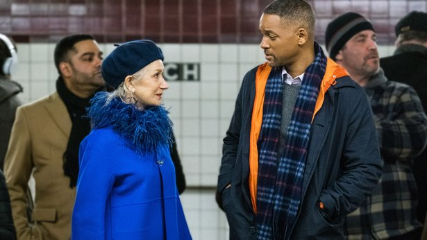 "Helen Mirren and Will Smith star in the new drama ""Collateral Beauty."""