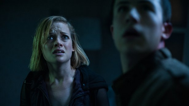 "Jane Levy and Dylan Minnette star in ""Don't Breathe."""