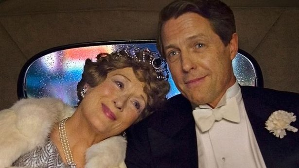 "Meryl Streep and Hugh Grant star in ""Florence Foster Jenkins."""