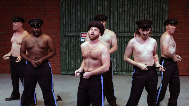"""Amarillo Little Theatre's """"The Full Monty"""" opens today."""