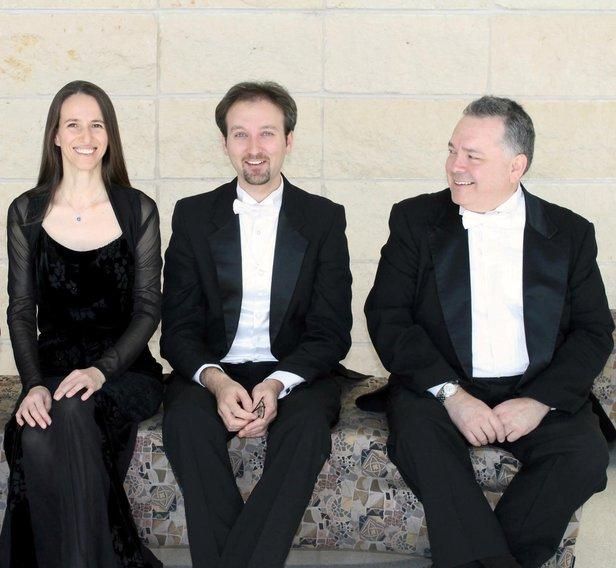 Harrington String Quartet members Rossitza Jekova-Goza, Vesselin Todorov and Emmanuel Lopez will perform Saturday.