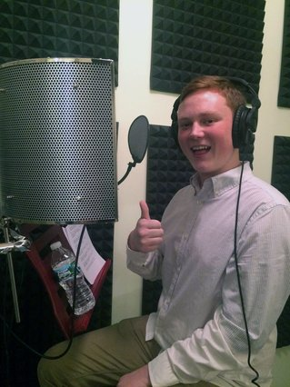 """Amarillo teen Harrison Stringer voices a main character in Mission US's """"Up from the Dust"""" online educational game."""