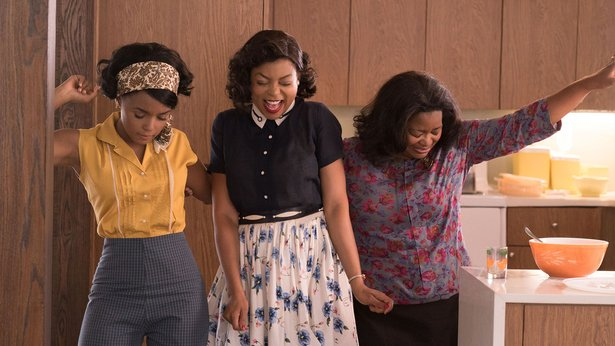 "Janelle Monae, Taraji P. Henson and Octavia Spencer star in ""Hidden Figures."""