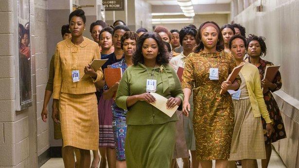 "Octavia Spencer, center, stars in ""Hidden Figures."""