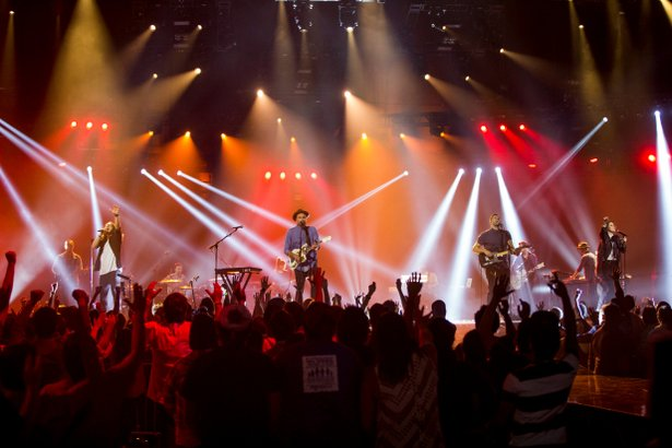 """Hillsong — Let Hope Rise"" documents the popular Christian band."