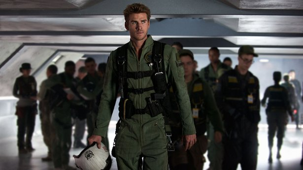 "LIam Hemsworth stars in ""Independence Day: Resurgence."""