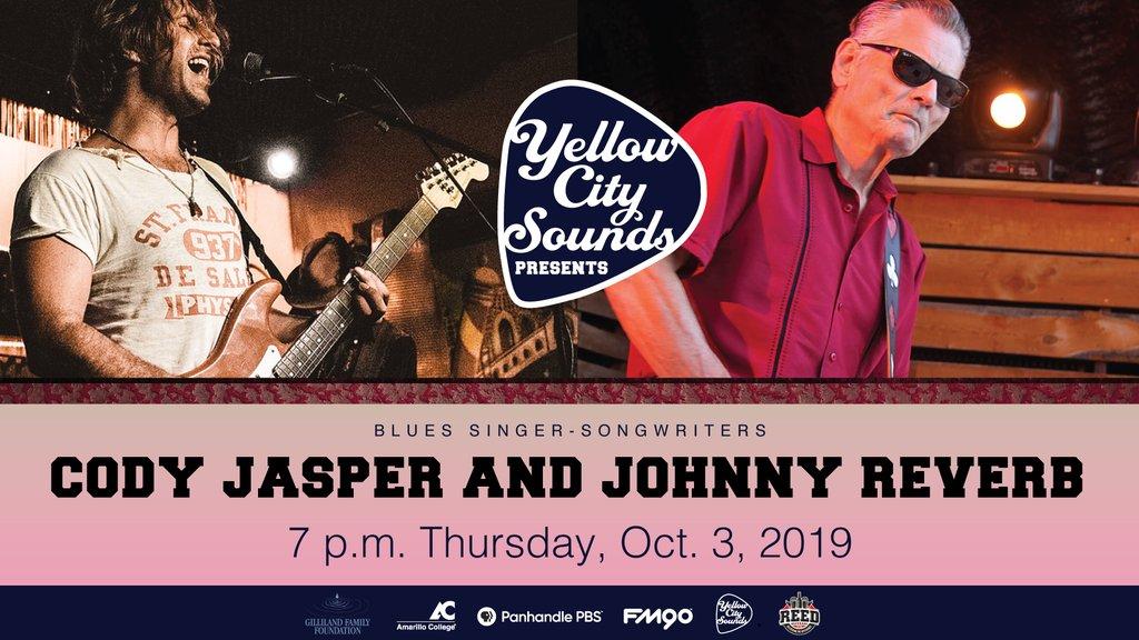 Cody Jasper and Johnny Reverb will perform Oct. 3