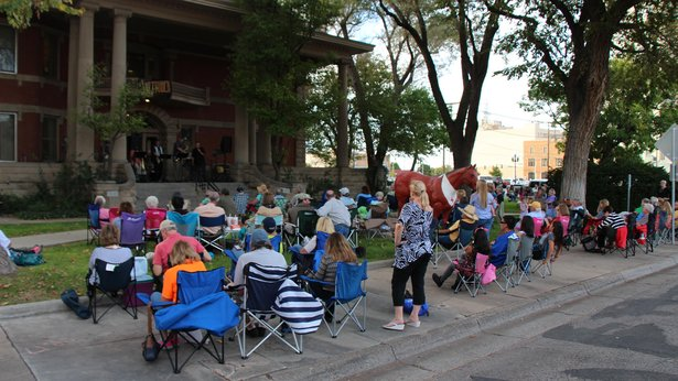 Bring your chairs and blankets to Jazztober, a monthly outdoor concert series beginning Tuesday at the Amarillo Chamber of Commerce.