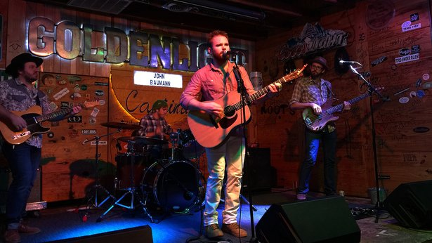 John Baumann performed Feb. 13 at Golden Light Cantina.