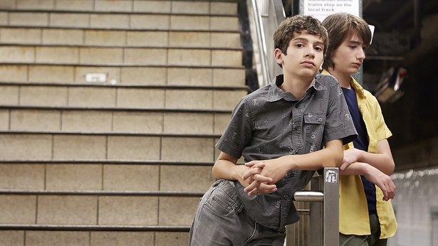 "Michael Barbieri and Theo Taplitz star in ""Little Men."""