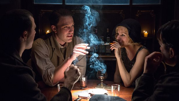 "Ben Affleck and Sienna Miller star in ""Live by Night."""