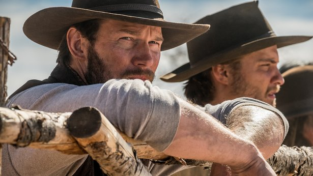 "Chris Pratt stars in ""The Magnificent Seven,"" a remake by director Antoine Fuqua."
