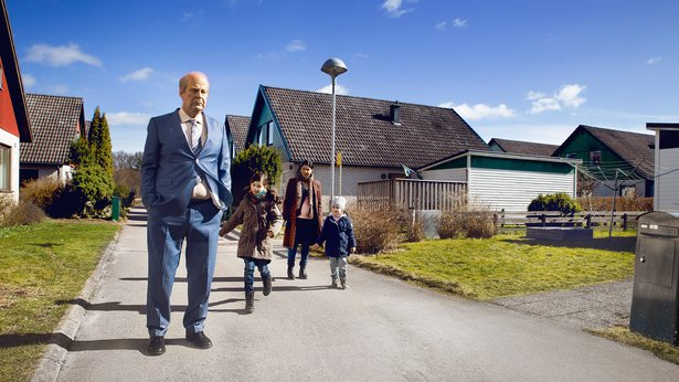 "The Swedish comedy ""A Man Called Ove,"" starring Rolf Lassgard, opens Friday."