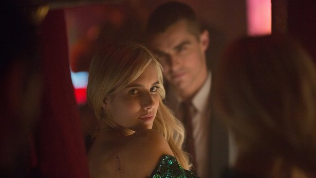 "Emma Roberts and Dave Franco get in deep in ""Nerve."""