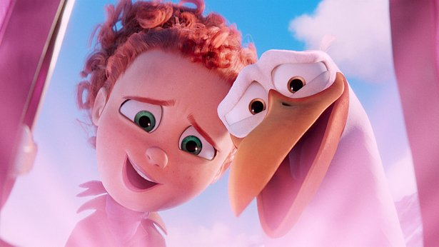 "The animated comedy ""Storks"" opens Friday."