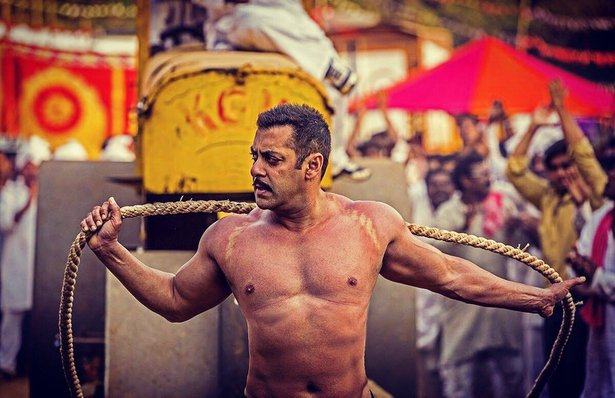 "Salman Khan stars in ""Sultan,"" Bollywood's offering for the Eid holiday."