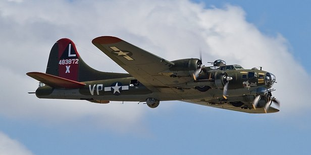 The Texas Raiders, one of a few WWII-era Flying Fortresses still capable of flight, will arrive in Amarillo on Friday.