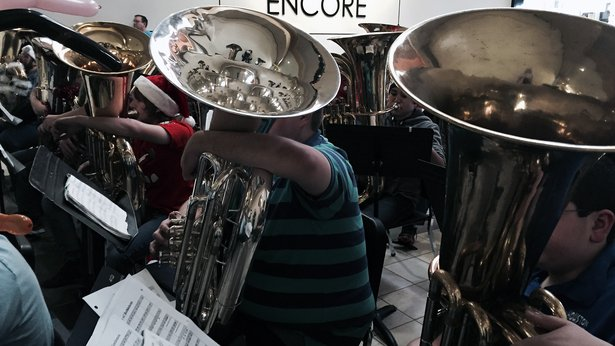 The annual Tuba Christmas concert is Saturday at Westgate Mall.